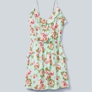 Aritzia | Talula 'Ulla' Ruffled Floral Dress